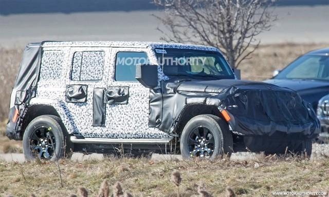 Delightful 2018 Jeep Wrangler Unlimited Spy Shots