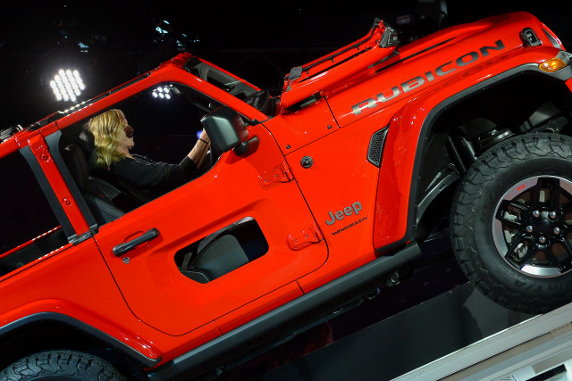 Los Angeles Auto Show: Fourth-Gen Jeep Wrangler Revealed
