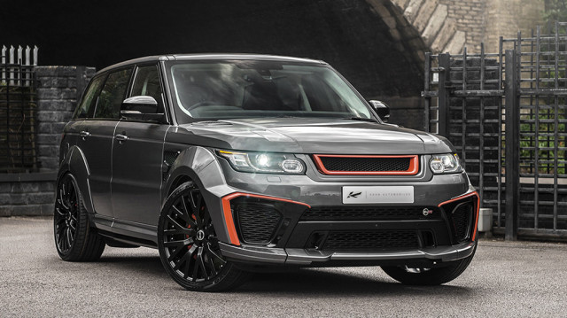 2018 Kahn Design Land Rover Range Rover Sport SVR Pace Car