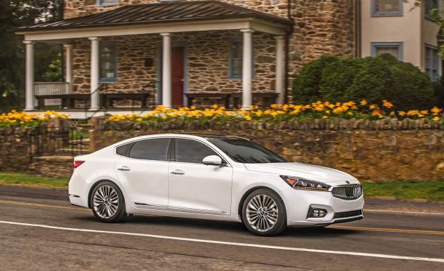 2018 kia cadenza review ratings specs prices and photos the car connection. Black Bedroom Furniture Sets. Home Design Ideas