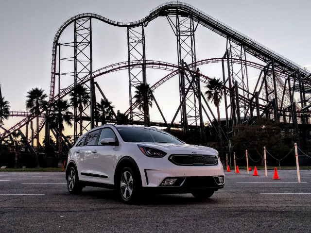 2018 Kia Niro Plug In Hybrid Six Flags Magic Mountain California Dec