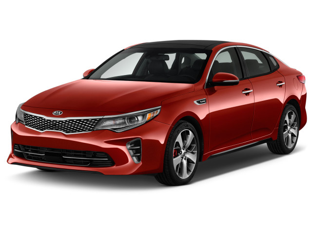 2018 Kia Optima SX Auto Angular Front Exterior View