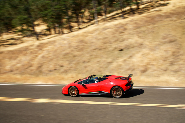 2018 Lamborghini Huracan Performante Spyder, Napa Valley, July 2018