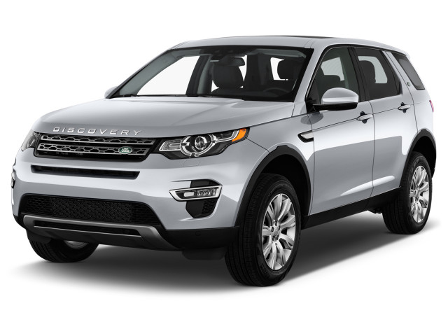 2018 Land Rover Discovery Sport HSE Luxury 286hp 4WD Angular Front Exterior View