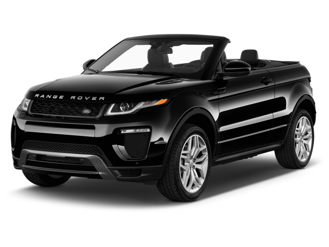 2018 Land Rover Range Rover Evoque Convertible SE Dynamic Angular Front Exterior View