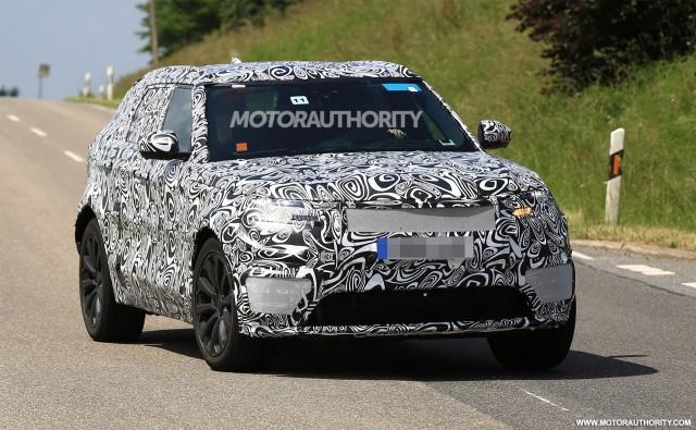 2018 Land Rover Range Rover Sport Coupe spy shots - Image via S. Baldauf/SB-Medien
