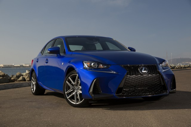 2018 lexus is. interesting lexus the is posts uneven crashtest scores but a rearview camera and advanced  safety features are standard point where it outwits most of its rivals intended 2018 lexus is x