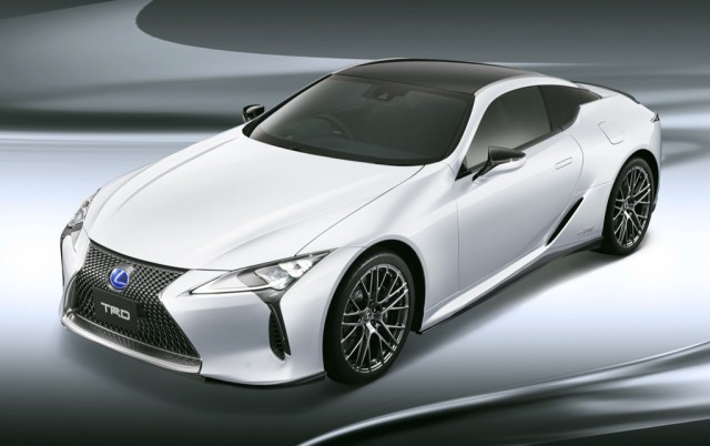 Trd Trots Out Upgrades For Lexus Lc