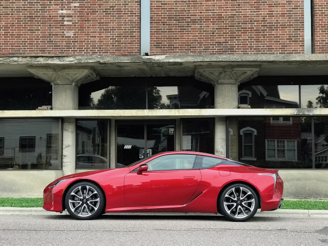 2018 Lexus LC 500 at the A.D. German Warehouse
