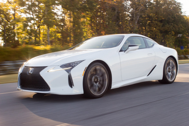 Lexus Lc Convertible Reportedly A Go Lc F Still Possible
