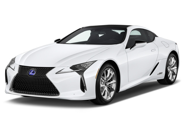 2018 Lexus LC LC 500h RWD Angular Front Exterior View