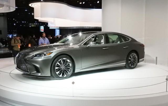 2018 Lexus Ls 2017 Detroit Auto Show