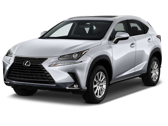 2018 Lexus NX NX 300 FWD Angular Front Exterior View