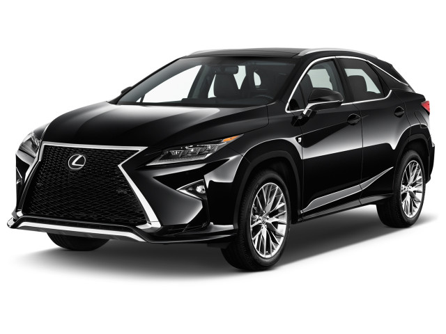 2018 Lexus RX RX 350 F Sport AWD Angular Front Exterior View