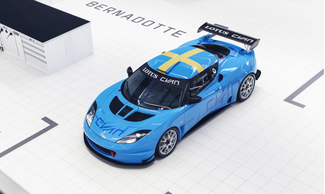2018 Lotus Cyan Racing Evora GT4 race car
