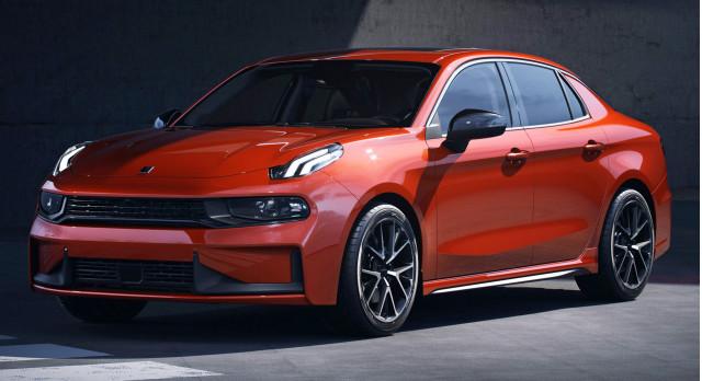 2019 Lynk & Co 03 Sedan