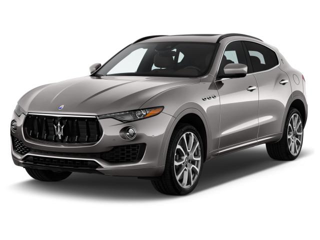 2018 Maserati Levante 3.0L Angular Front Exterior View