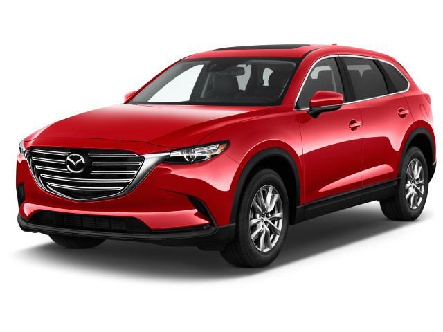 2018 Mazda CX-9 Touring FWD Angular Front Exterior View