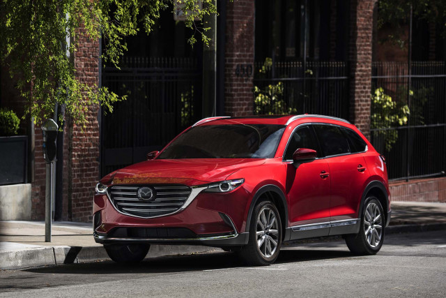 Mazda recalls nearly 8K CX-9 crossovers for faulty wiring