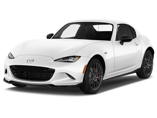 2018 Mazda MX-5 Miata RF Club Manual Angular Front Exterior View