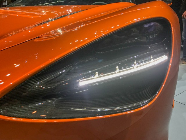2018 McLaren 720s, 2017 Geneva auto show
