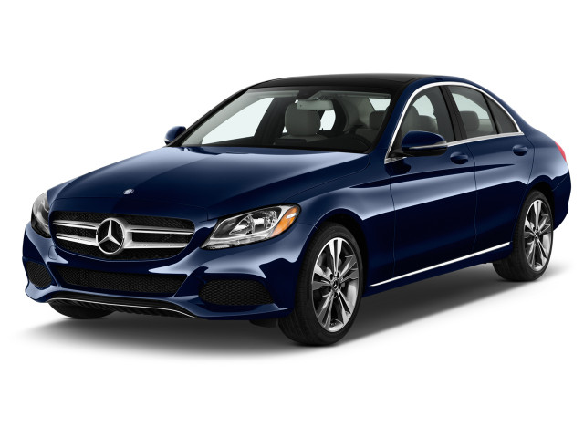 2018 Mercedes-Benz C Class C 300 Sedan Angular Front Exterior View