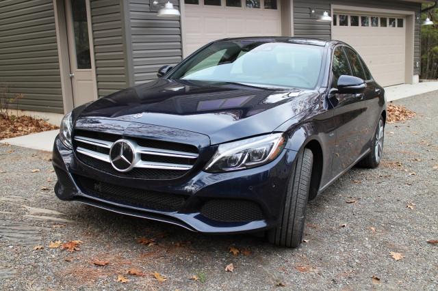 2018 Mercedes-Benz C350e, Catskill Mountains, NY, Nov 2017