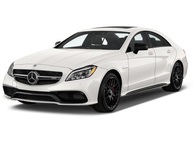 2018 Mercedes-Benz CLS Class AMG CLS 63 S 4MATIC Coupe Angular Front Exterior View