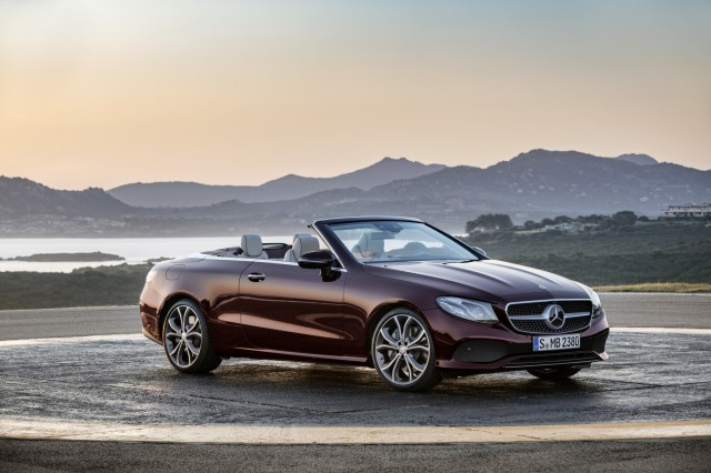 2018 mercedes benz e class cabriolet first drive review a for 2018 mercedes benz lineup