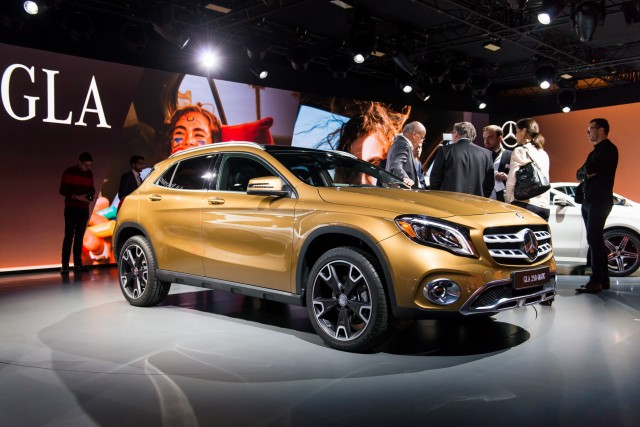 Mercedes To Add New Cars To Compact Range - Mercedes car show 2018