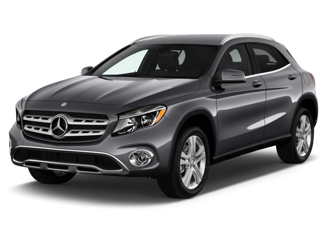 2018 Mercedes-Benz GLA GLA 250 4MATIC SUV Angular Front Exterior View