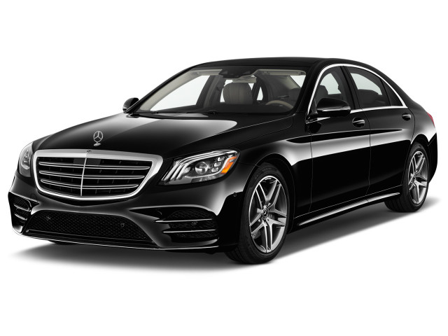 2018 Mercedes-Benz S Class S 450 Sedan Angular Front Exterior View