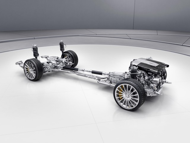 2018 Mercedes-AMG S63 4Matic+ powertrain and suspension