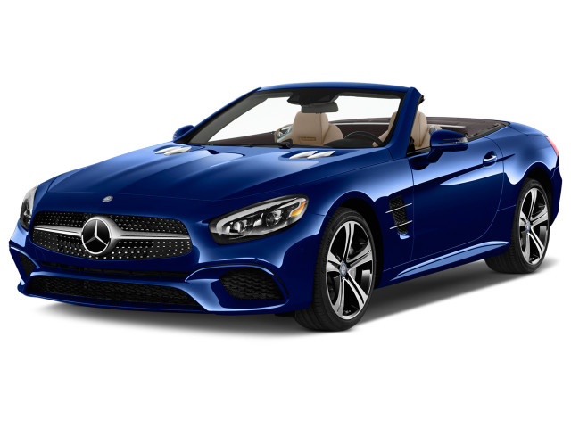 2018 Mercedes-Benz SL Class SL 450 Roadster Angular Front Exterior View