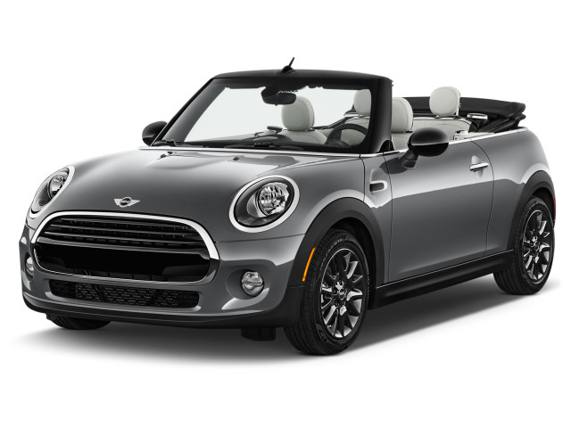 2018 MINI Convertible Cooper FWD Angular Front Exterior View