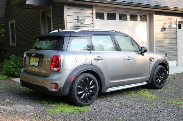 2018 Mini Cooper S E Countryman All4 plug-in hybrid, Catskill Mountains, NY, July 2017