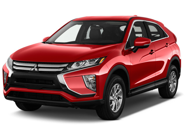 2018 Mitsubishi Eclipse Cross SE S-AWC Angular Front Exterior View