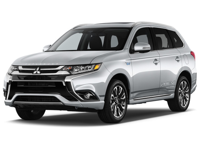 2018 Mitsubishi Outlander PHEV GT S-AWC Angular Front Exterior View