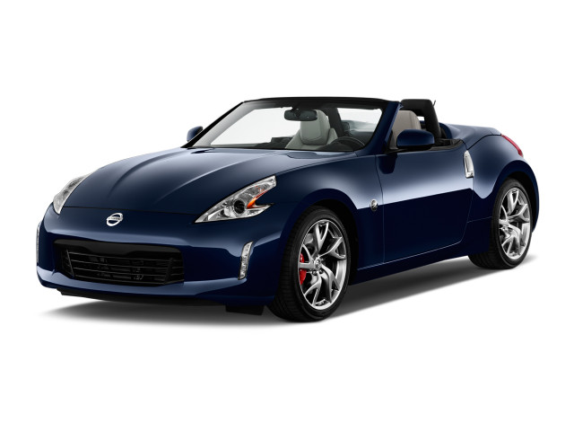 2018 Nissan 370Z Roadster Auto Angular Front Exterior View