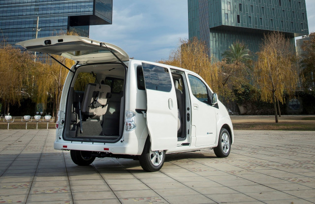 2018 nissan e nv200 electric delivery van european version