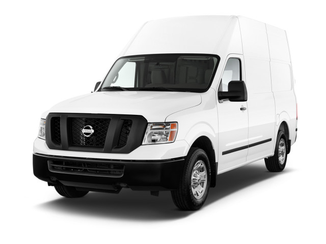 2018 Nissan NV NV2500 HD High Roof V8 SV Angular Front Exterior View