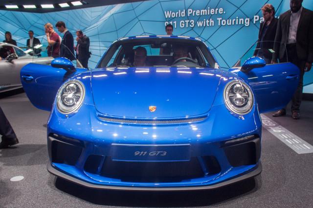 2018 Porsche 911 GT3 with Touring Package, 2017 Frankfurt Motor Show