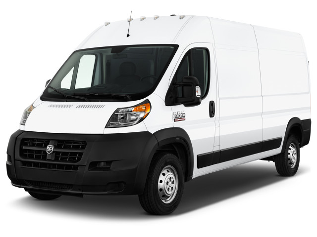 2018 Ram Promaster Cargo Van 2500 High Roof 136 Wb Angular Front Exterior View