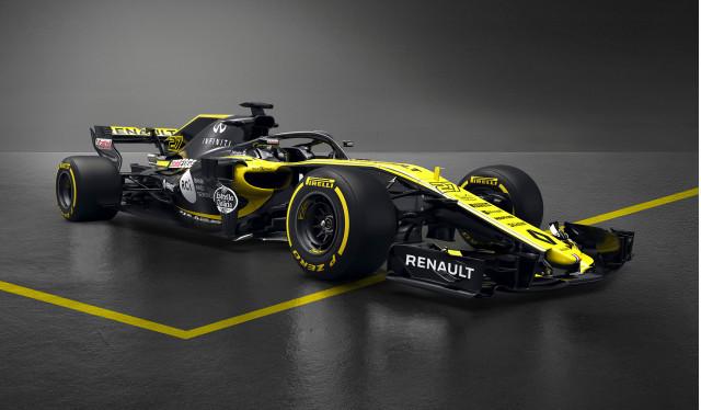 2018 Renault R.S.18 Formula 1 race car