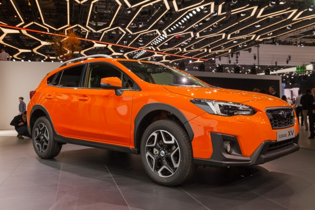 2018 subaru electric. plain electric 2018 subaru crosstrek 2017 geneva auto show for subaru electric b