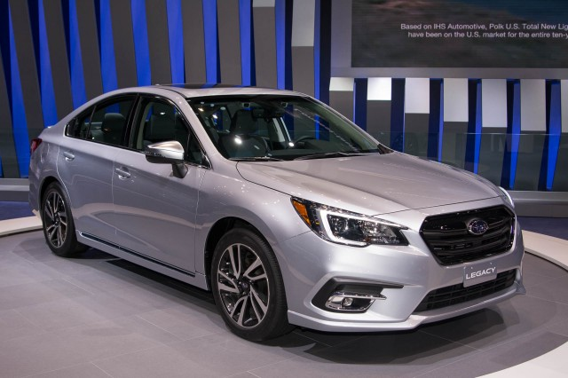 2018 Subaru Legacy breaks cover at 2017 Chicago auto show