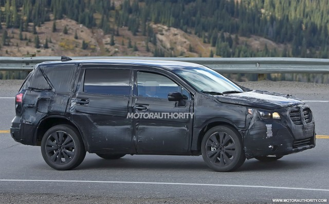2018 Subaru Tribeca Replacement Spy Shots Image Via S Baldauf Sb Men