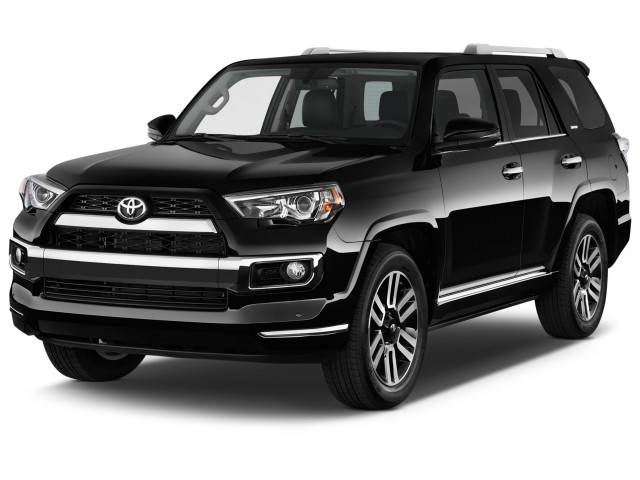 2018 Toyota 4Runner Limited 2WD (Natl) Angular Front Exterior View
