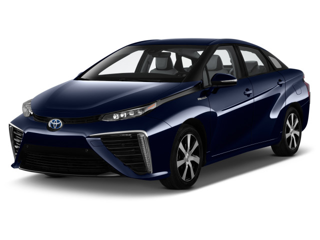 2018 Toyota Mirai Sedan Angular Front Exterior View