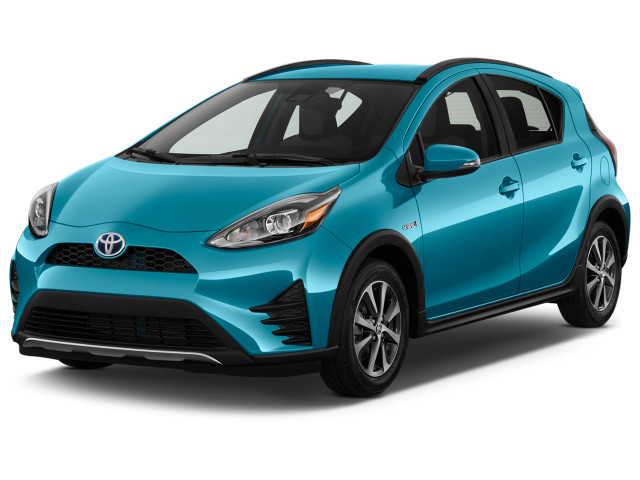 2018 Toyota Prius C One Natl Angular Front Exterior View